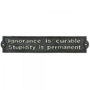 Tablica Ignorance