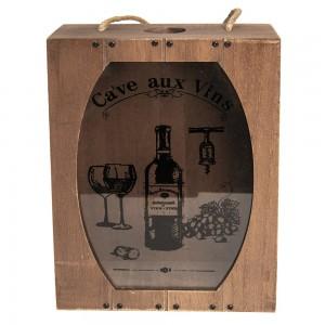 Škatla za zbiranje vinskih zamaškov