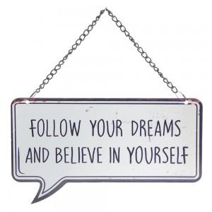 Tablica Follow your dreams