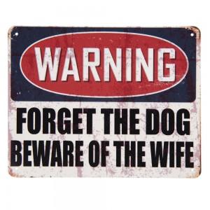 Tablica Warning…
