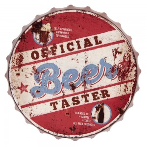 Tablica Official beer..