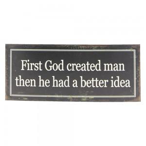 Tablica First God created