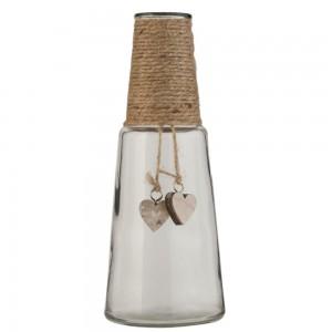 Steklenica z vrvico SRCE