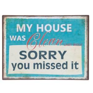 Tablica My house