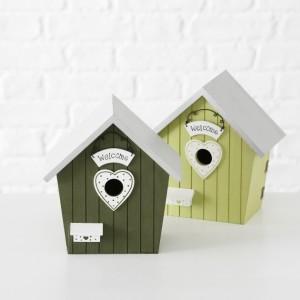 Ptičja hiša Welcome