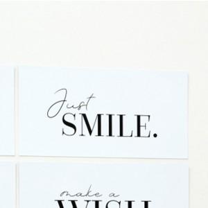 Tabla Just smile