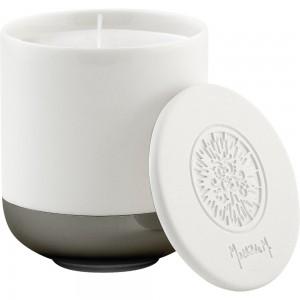 Dišeča sveča s keramičnim pokrovom