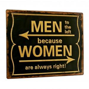 Tablica Men/Women