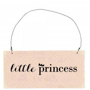 Stenska tablica Little Princess