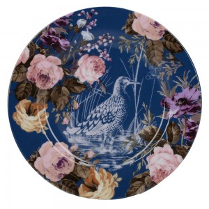 Desertni krožnik Divja marelica - modra