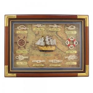 Slika v okvirju Morski vozli