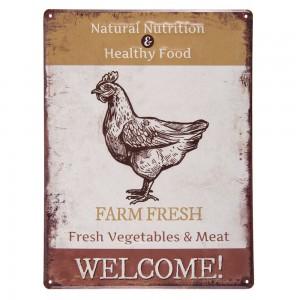 Tablica Farm fresh..