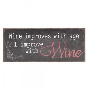 Tablica Wine improves…