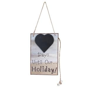 Tablica s kredo Holiday