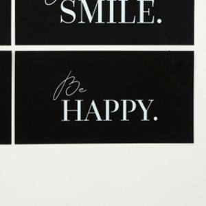 Tabla Be happy