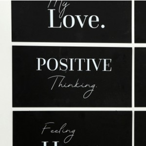 Tabla Positive thinking