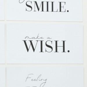 Tabla Make a wish