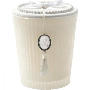 Dišeča sveča s keramičnim pokrovom 125g