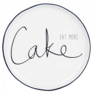 Krožnik Eat more Cake