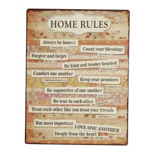 Tablica Home rules