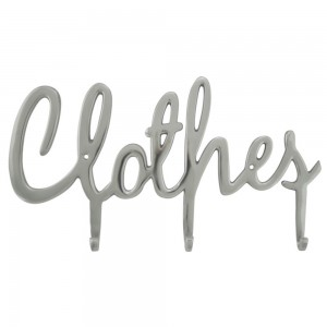 Stenski obešalnik Clothes